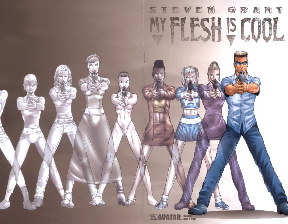My Flesh Is Cool #1-3 Complete