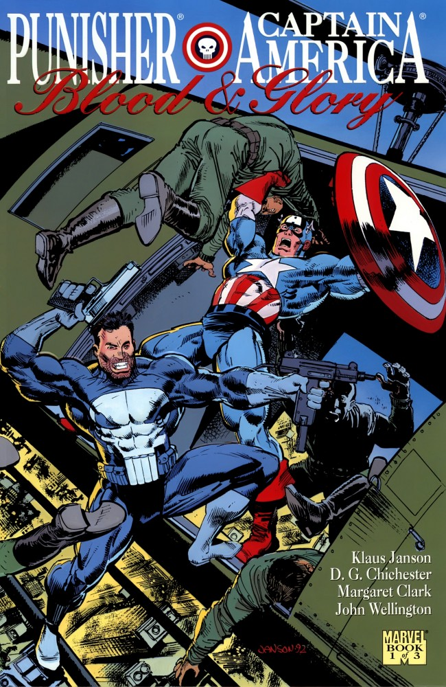 Punisher & Captain America Blood and Glory #1-3 Complete