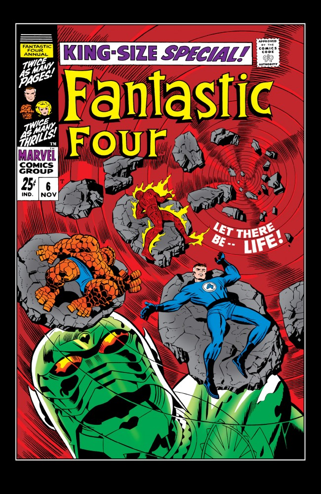 Fantastic Four Annual #06