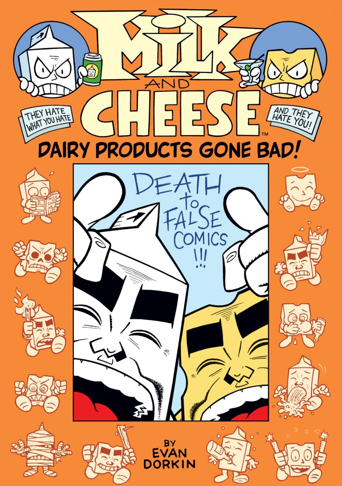Milk and Cheese - Dairy Products Gone Bad!