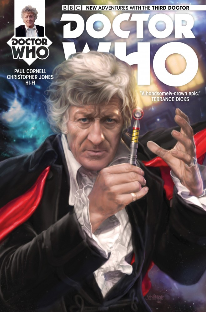 Doctor Who The Third Doctor #1