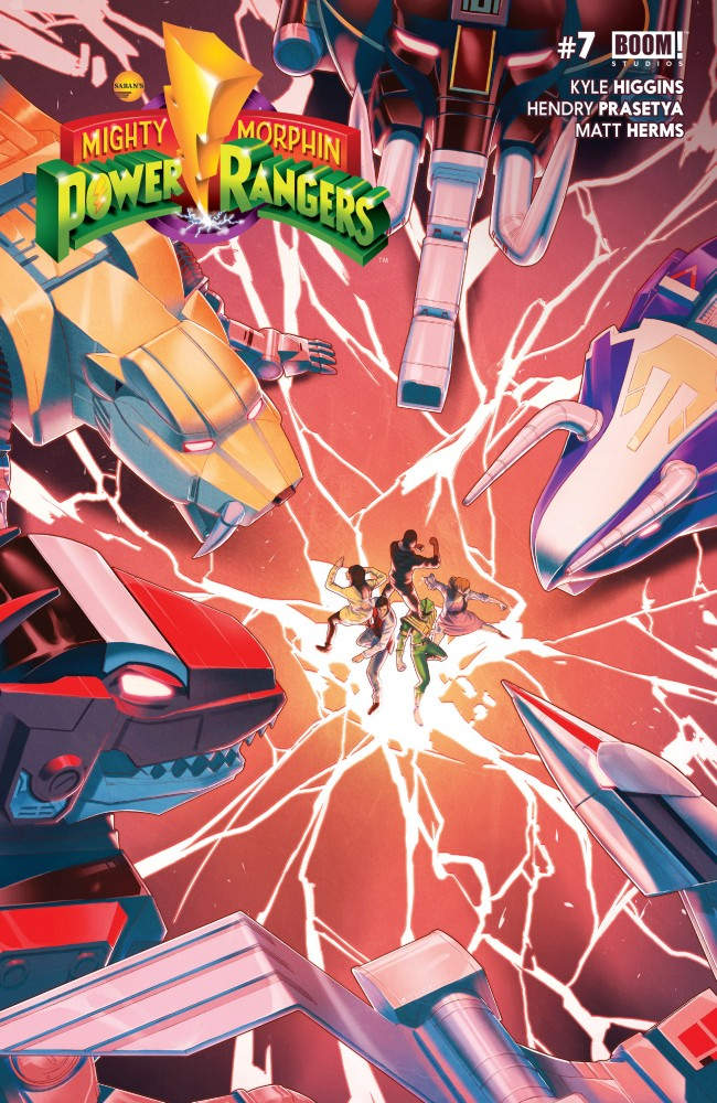 Mighty Morphin Power Rangers #7