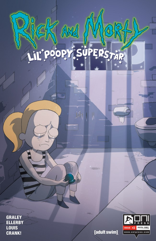 Rick and Morty: Lil' Poopy Superstar #3