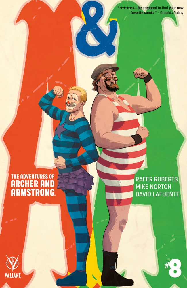 A&A - The Adventures of Archer & Armstrong #8