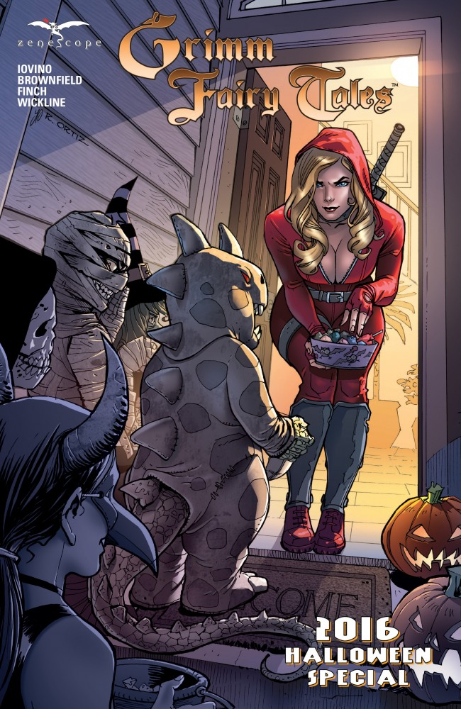 Grimm Fairy Tales 2016 Halloween Special