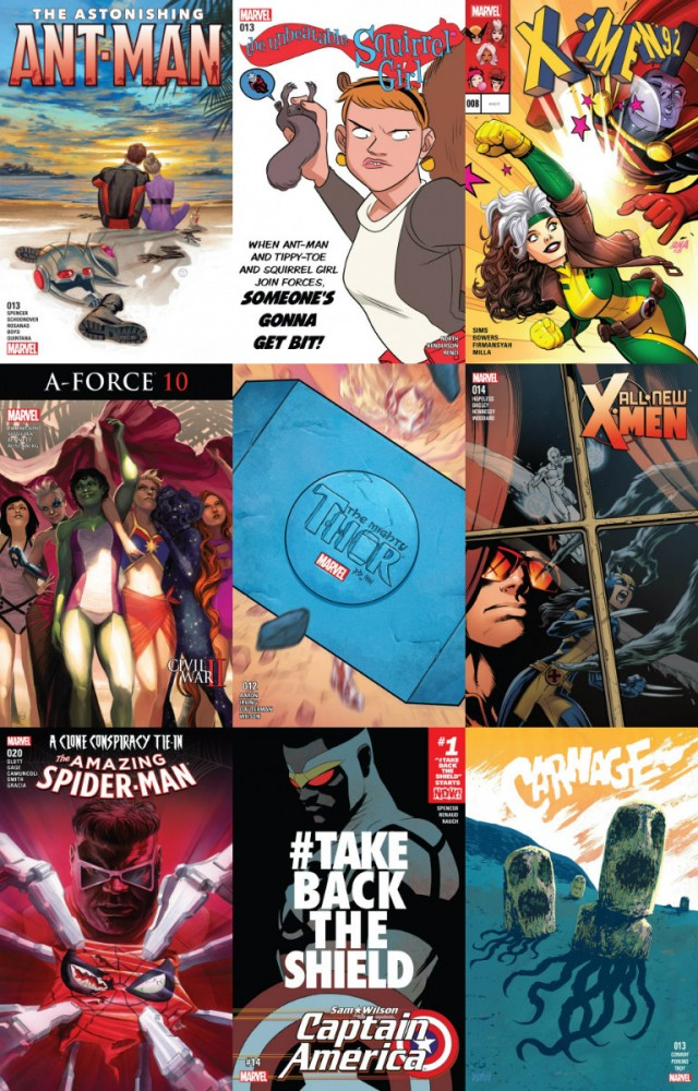 Collection Marvel (19.10.2016, week 42)