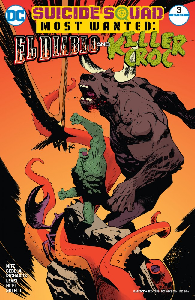 Suicide Squad Most Wanted - El Diablo and Killer Croc #3
