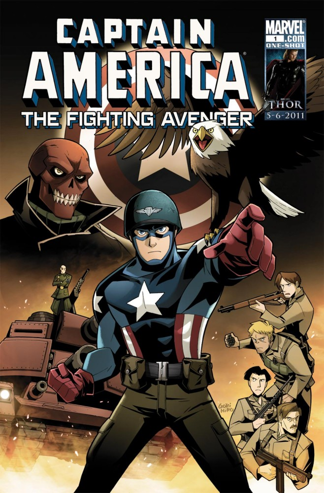 Captain America - The Fighting Avenger #1