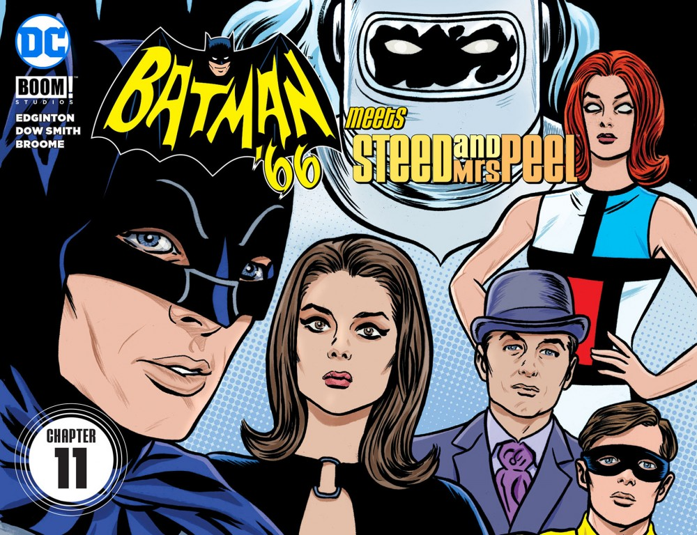 Batman '66 Meets Steed and Mrs Peel #11