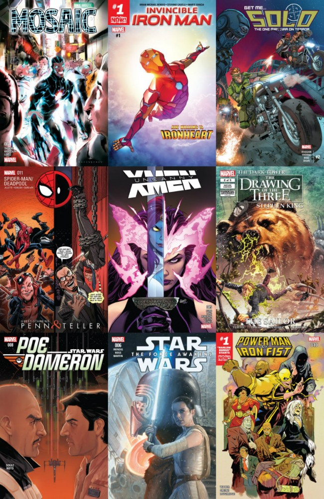 Collection Marvel (09.11.2016. week 45)