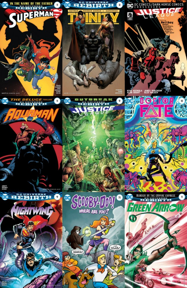 DC week – The New 52 (16.11.2016, week 46)