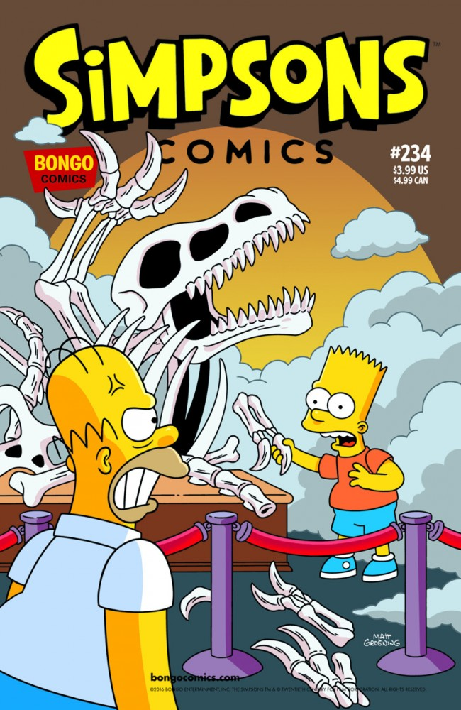Simpsons Comics #234