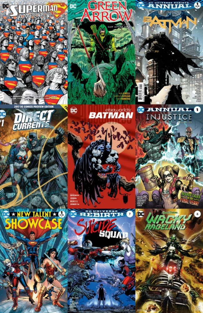 DC week – The New 52 (30.11.2016, week 48)