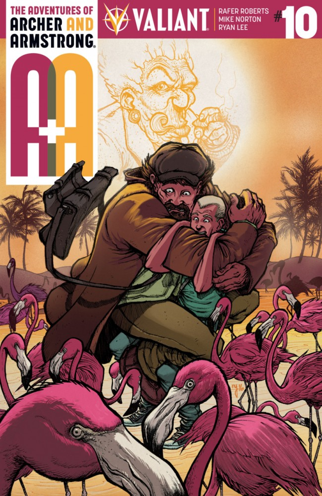 A&A - The Adventures of Archer & Armstrong #10