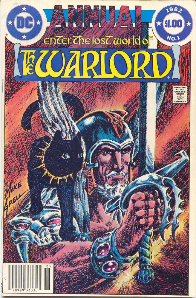 Warlord vol.1 Annuals #1-6
