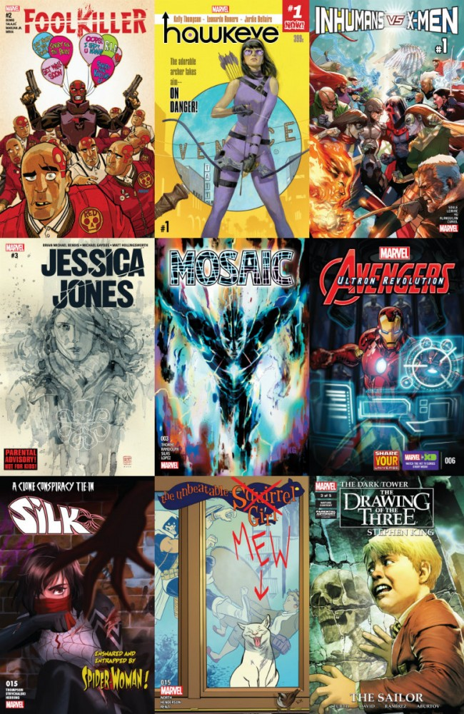 Collection Marvel (14.12.2016, week 50)