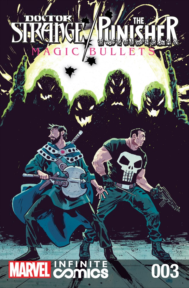 Doctor Strange - The Punisher - Magic Bullets Infinite Comic #3