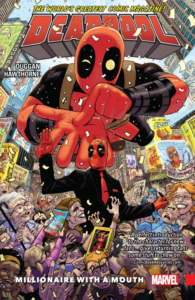 Deadpool Vol.1 - World's Greatest - Millionaire With a Mouth