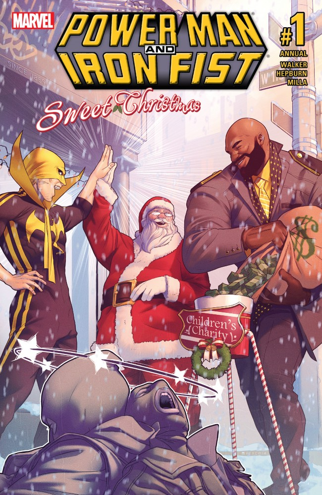 Power Man and Iron Fist - Sweet Christmas Annual #1