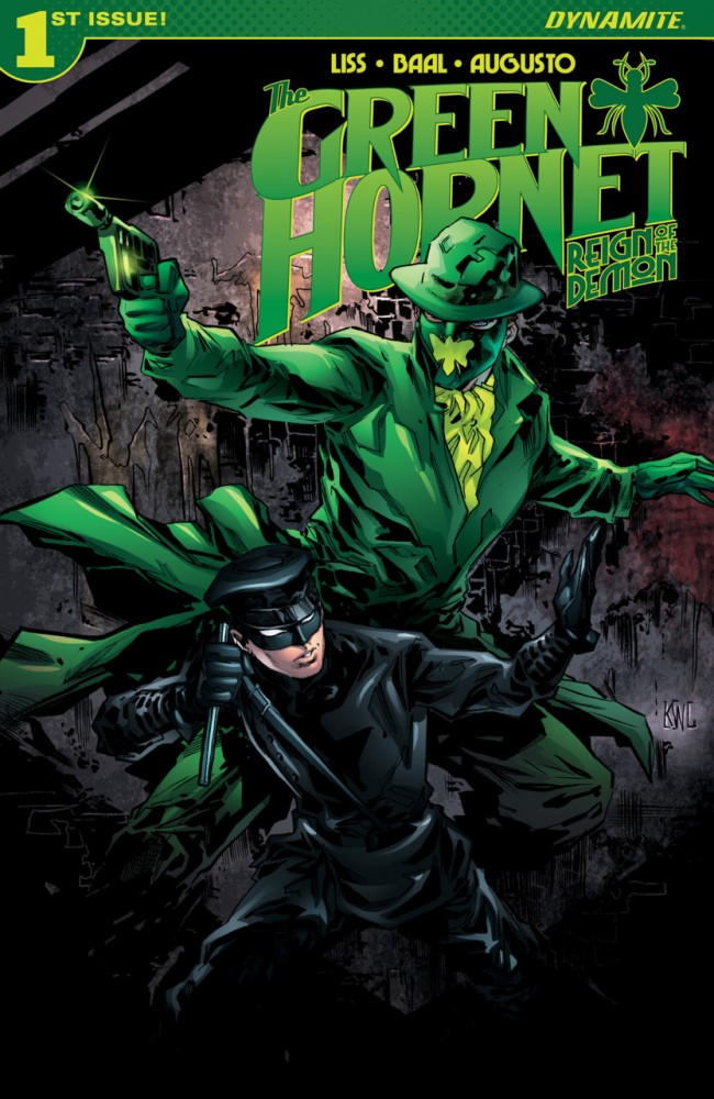 The Green Hornet Reign of the Demon #1