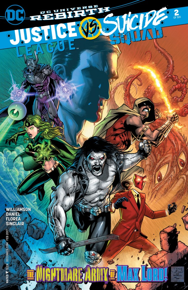 Justice League Vs Suicide Squad #2
