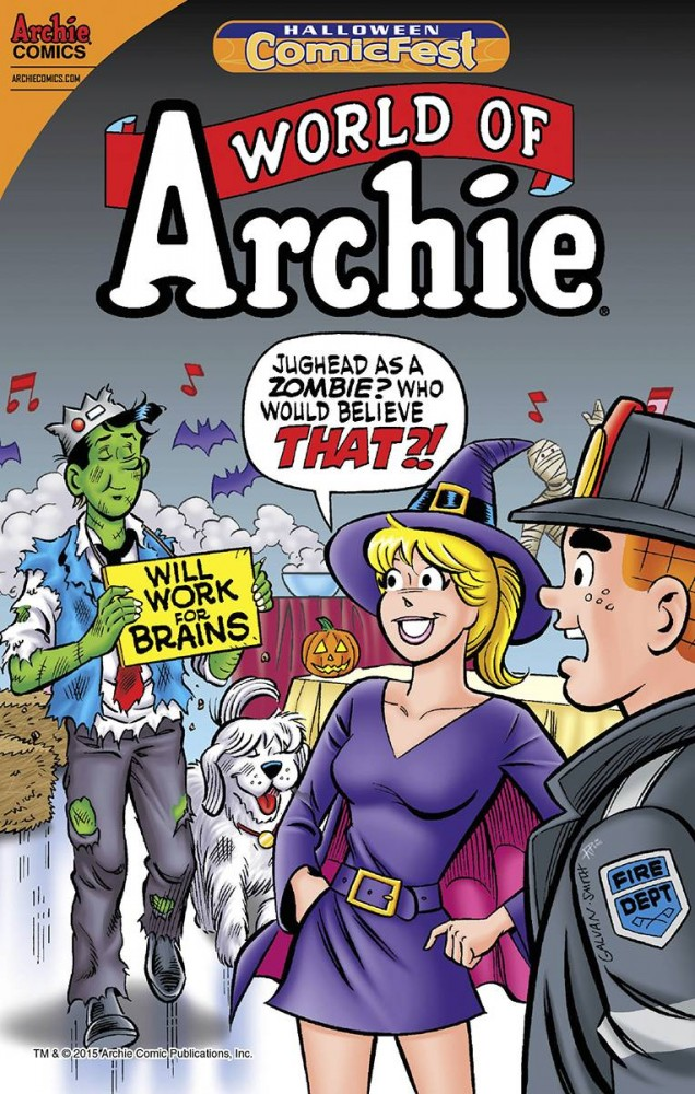 World of Archie #1 - Halloween Comic Fest 2016