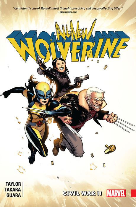 All-New Wolverine Vol.2 - Civil War II