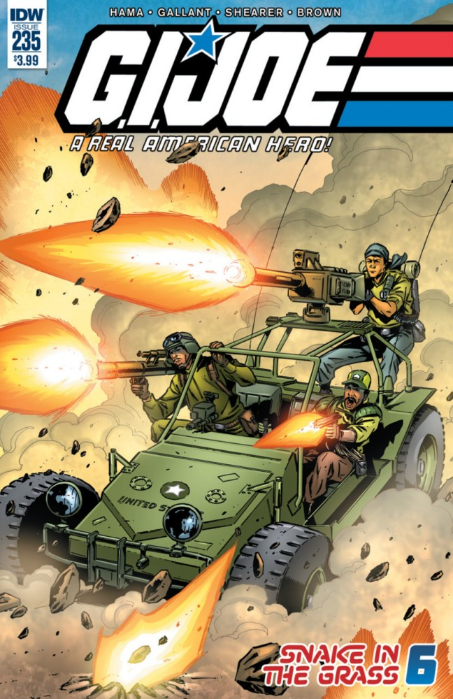 G.I. Joe - A Real American Hero #235