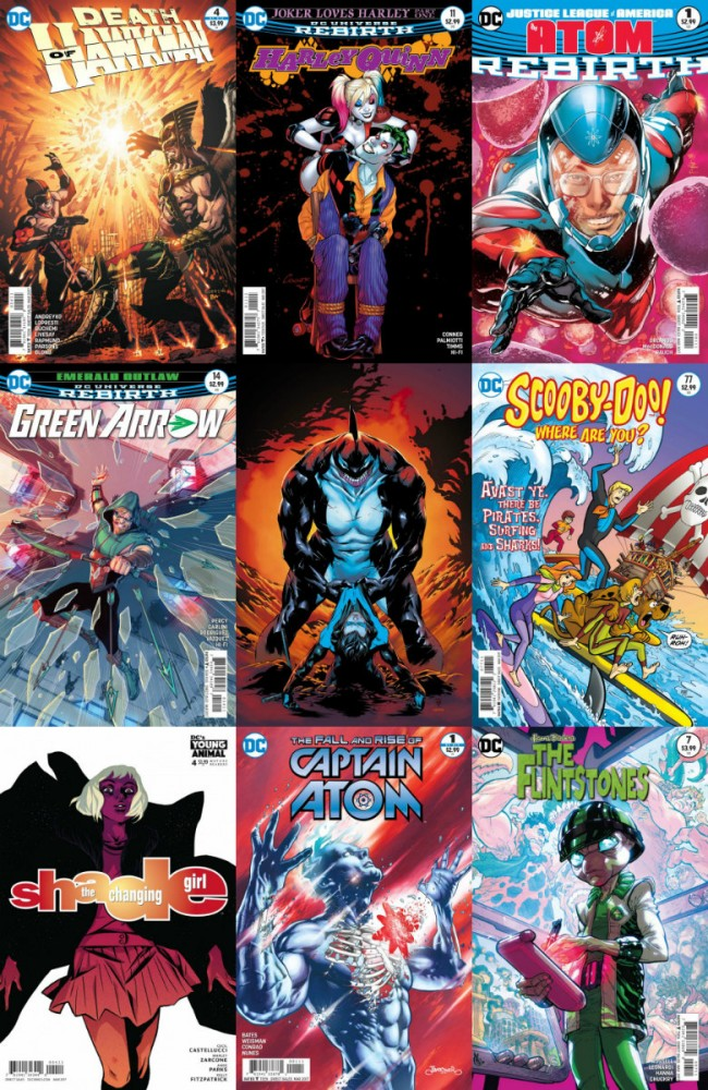 DC comics week (04.01.2017, week 53)