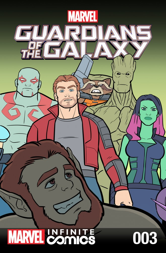 Guardians of the Galaxy - Awesome Mix Infinite Comic #03