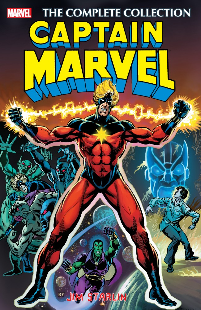 Captain Marvel by Jim Starlin - The Complete Collection #1