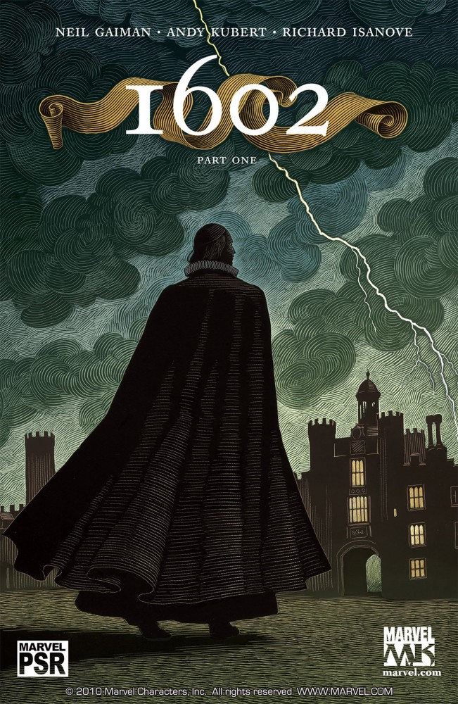 Marvel 1602 #1-8 series Complete