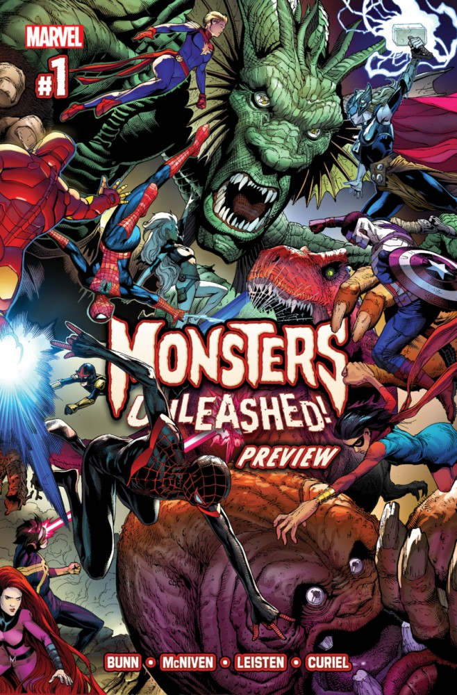 Monsters Unleashed! Preview #1