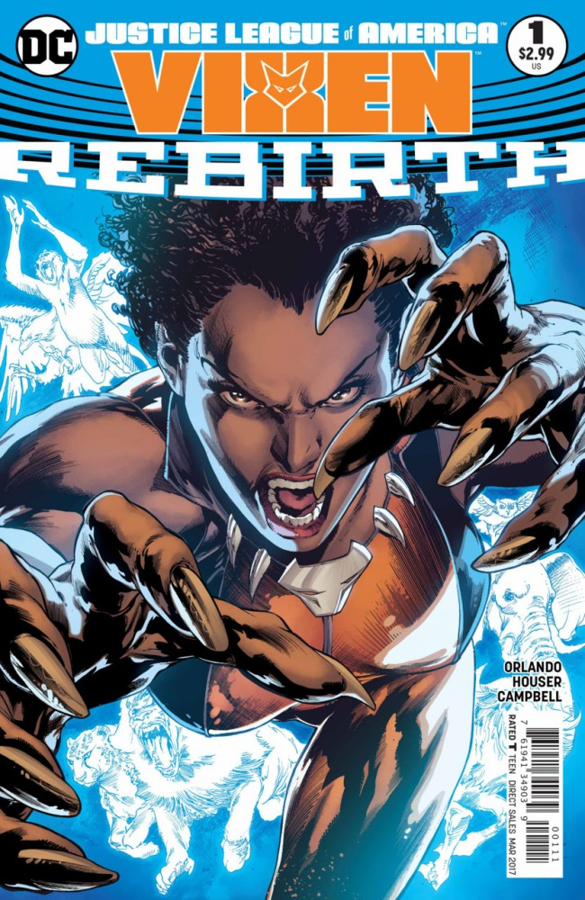 Justice League of America - Vixen - Rebirth #1