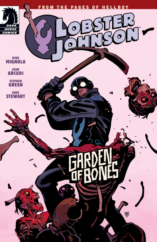 Lobster Johnson - Garden of Bones #1