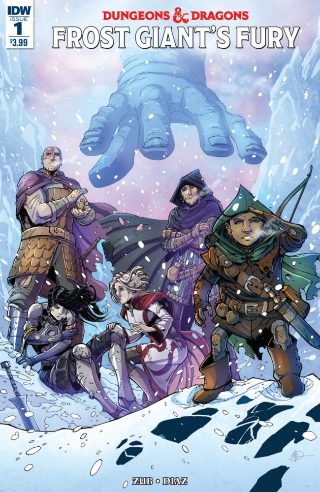 Dungeons Dragons Frost Giant's Fury #1