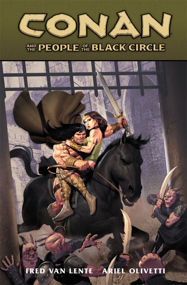 Conan and the People of the Black Circle #1 - HC