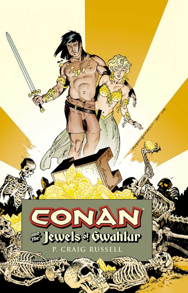 Conan and the Jewels of Gwahlur #1 - HC