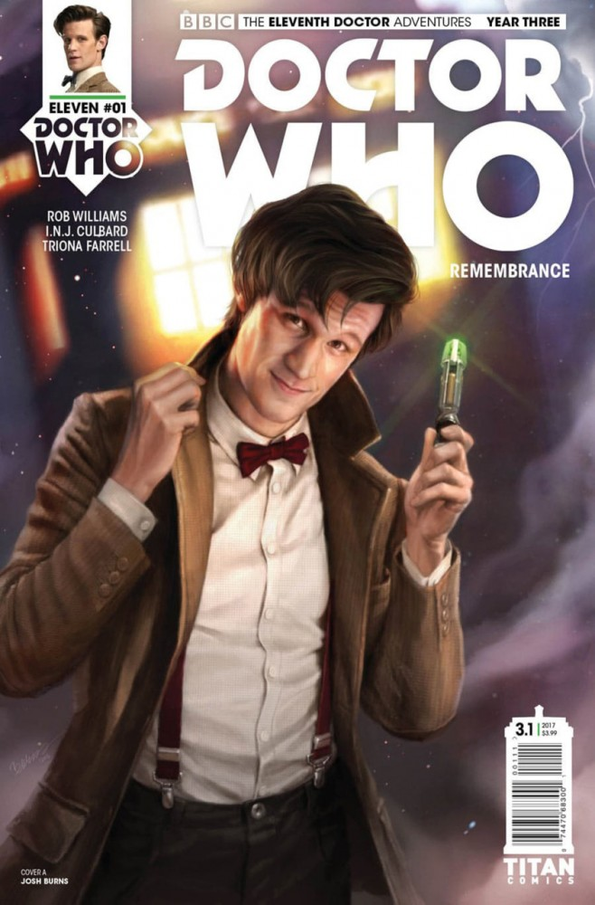 Doctor Who - The Eleventh Doctor Year Three #1
