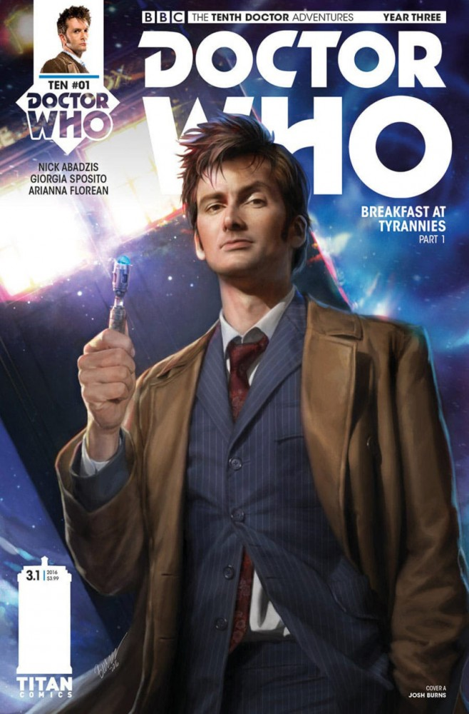 Doctor Who - The Tenth Doctor Year Three #1