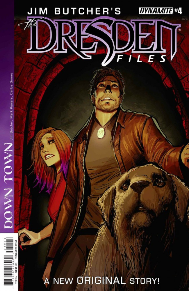 Jim Butcher's The Dresden Files- Down Town #4