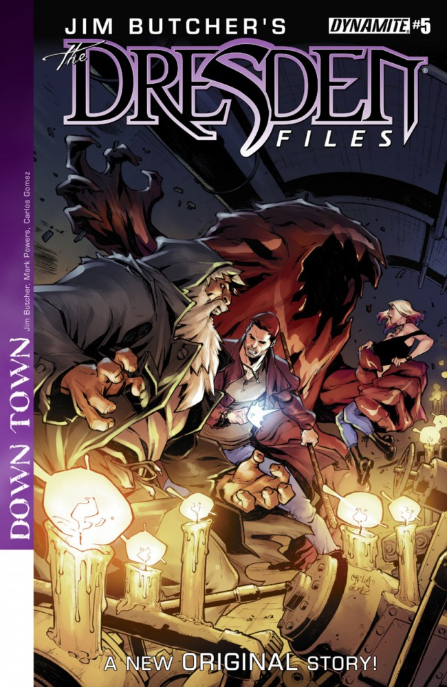 Jim Butcher's The Dresden Files- Down Town #5