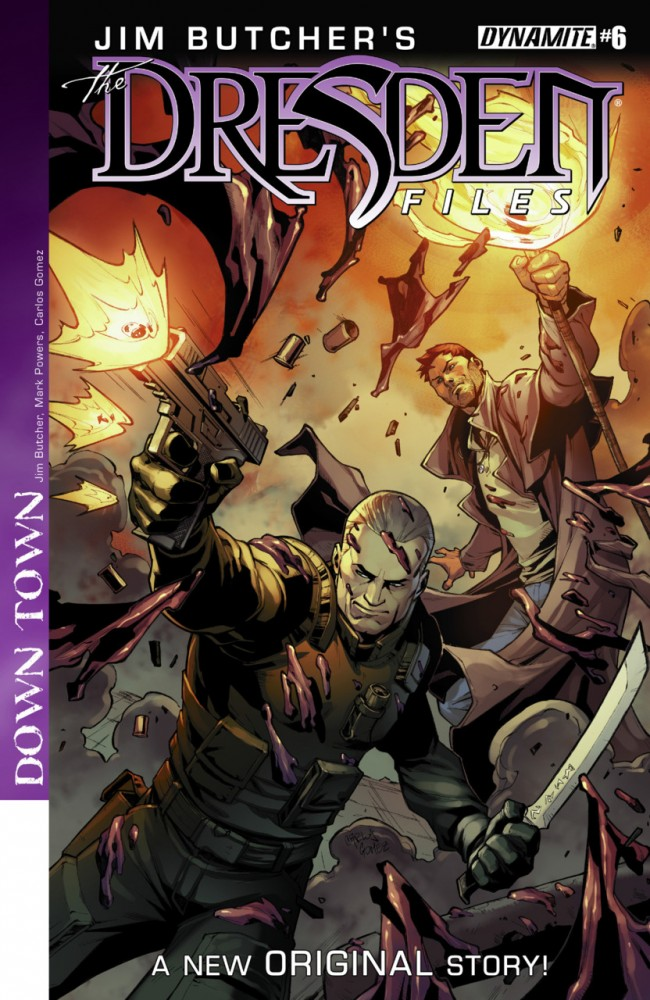 Jim Butcher's The Dresden Files- Down Town #6
