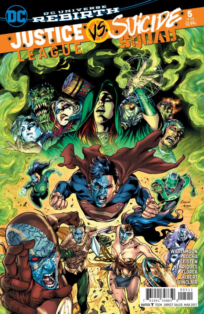Justice League Vs Suicide Squad #5