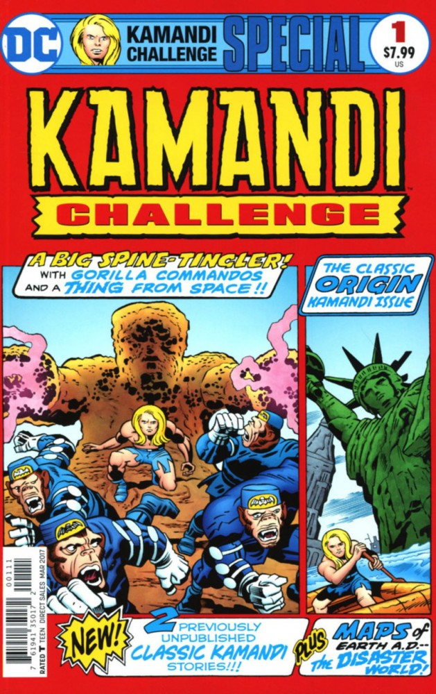The Kamandi Challenge Special #1