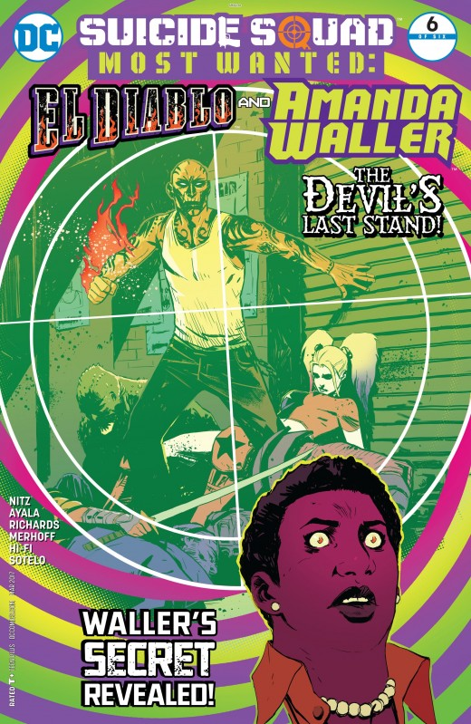 Suicide Squad Most Wanted - El Diablo and Amanda Waller #6