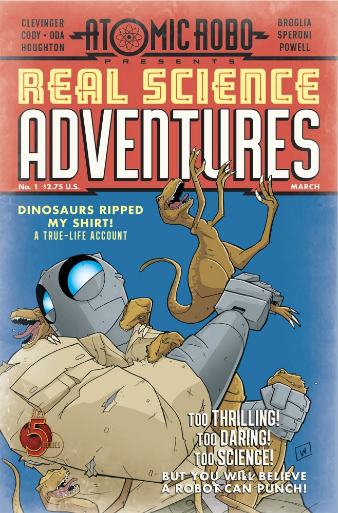 Atomic Robo - Real Science Adventures #1-12 Complete
