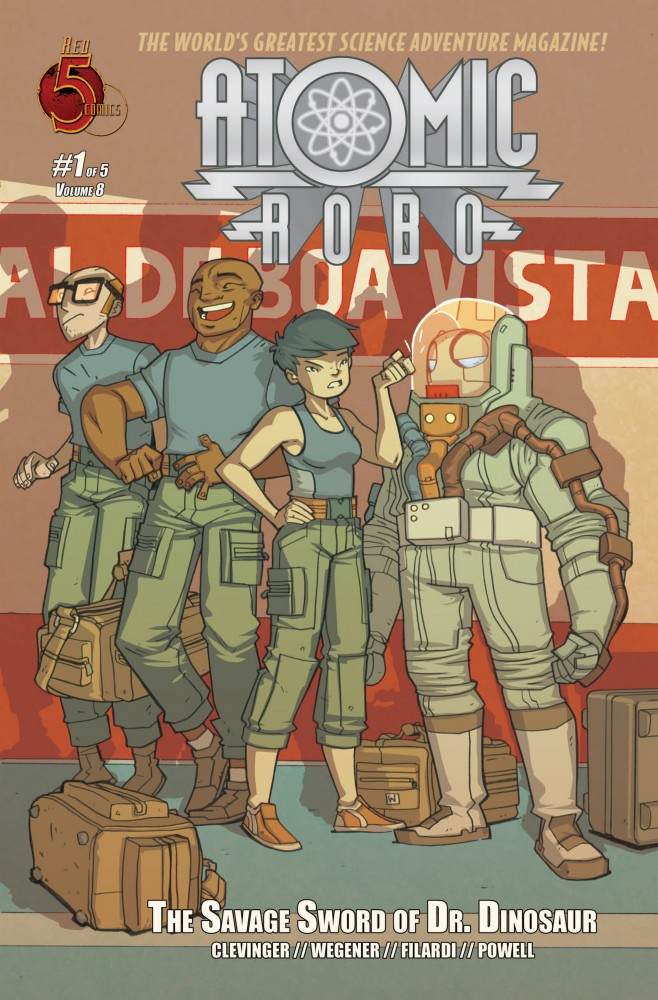 Atomic Robo and the Savage Sword of Dr. Dinosaur #1-5 Complete
