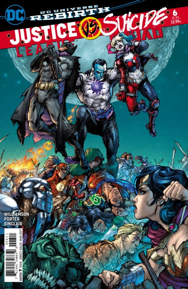 Justice League Vs Suicide Squad #6