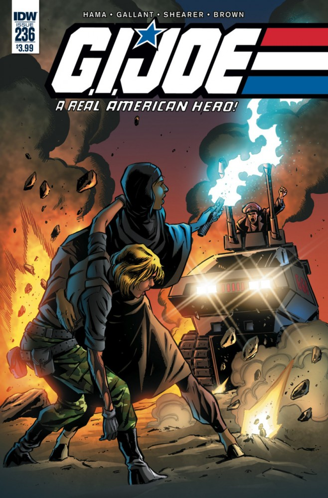 G.I. Joe - A Real American Hero #236